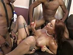 Cumshot Interracial Porn - Sean and Isiah are father and son looking for a new place to call home. Janet Mason